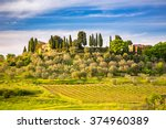 Beautiful Tuscany Landscape At...