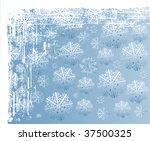 christmas background design.... | Shutterstock .eps vector #37500325