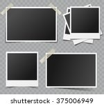 collection of vector blank... | Shutterstock .eps vector #375006949