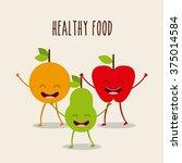 food character design  | Shutterstock .eps vector #375014584