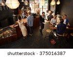 Popular Modern Coffee Shop Busy ...