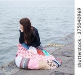 hangzhou  china   april 13 ... | Shutterstock . vector #375040969