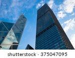 hong kong  china  1 january...   Shutterstock . vector #375047095