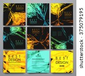 set of modern design banner... | Shutterstock .eps vector #375079195