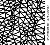 abstract freehand lines pattern ... | Shutterstock .eps vector #375080464