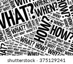 Question Words Background ...