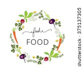 Fresh Food Logo Vector Template