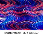 colorful wavy background... | Shutterstock . vector #375138067