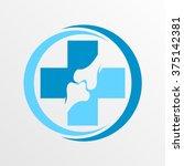 bone health logo template | Shutterstock .eps vector #375142381
