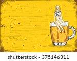 illustration of a sailor girl...