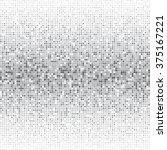 vector silver dot pattern.... | Shutterstock .eps vector #375167221