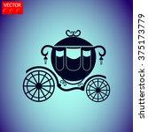 carriage vector icon. | Shutterstock .eps vector #375173779