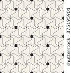 vector seamless pattern. modern ... | Shutterstock .eps vector #375195901