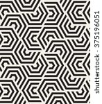 vector seamless pattern. modern ... | Shutterstock .eps vector #375196051