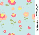 flowers design | Shutterstock . vector #375200665