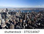 new york city  usa   october 22 ... | Shutterstock . vector #375216067