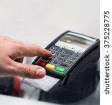 credit or debit card password...   Shutterstock . vector #375228775