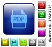 set of pdf file format color...