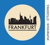 abstract frankfurt  skyline