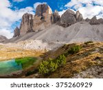 Famous Three Peaks Of Lavaredo...