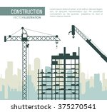 under construction design  | Shutterstock .eps vector #375270541