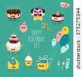 Funny Birthday Set. Birthday...