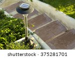 Small Solar Garden Light In A...