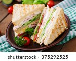 Club Sandwich With Cheese ...