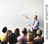audience brainstorming... | Shutterstock . vector #375317719