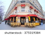 paris  france  february 7  2016 ... | Shutterstock . vector #375319384