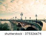 Bordeaux River Bridge With St...