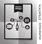 technology icon design  | Shutterstock .eps vector #375347974