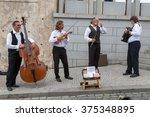prague  czech republic   jun 10 ... | Shutterstock . vector #375348895