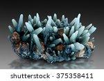 prase green quartz from serifos ... | Shutterstock . vector #375358411