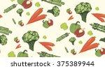 vegetables | Shutterstock .eps vector #375389944