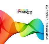 vector modern colorful hi tech...   Shutterstock .eps vector #375393745