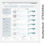 illustration of the online web... | Shutterstock .eps vector #375424441
