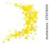 Yellow Various Flowers Butterflies Breeze - Fine Art prints