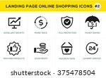 flat line design concept icons...   Shutterstock .eps vector #375478504