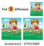 vector illustration of game for ... | Shutterstock .eps vector #375519889