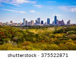 austin texas autumn greenbelt... | Shutterstock . vector #375522871