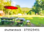 image of blurred outdoor coffee ... | Shutterstock . vector #375525451