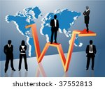 global business concept | Shutterstock .eps vector #37552813