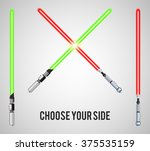 choose your side text with... | Shutterstock .eps vector #375535159