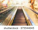 blur escalator | Shutterstock . vector #375544045