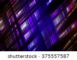 abstract  violet fractal... | Shutterstock . vector #375557587