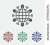 wifi icon | Shutterstock .eps vector #375563191