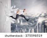 breakthrough   Shutterstock . vector #375598519