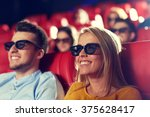 cinema  entertainment and... | Shutterstock . vector #375628417
