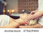 people  beauty  spa  healthy... | Shutterstock . vector #375629404